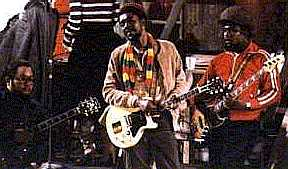 Peter Tosh at Saturday Night LIVE Rehearsal