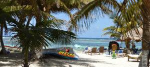 Beach at Rasjohnmon's Club Tropical