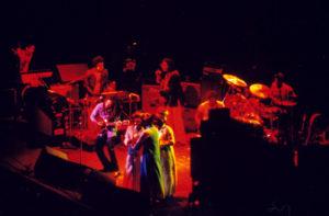 Bob Marley on Stage at Madison Square Garden - Rasjohnmon photo