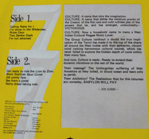 culture record sleeve