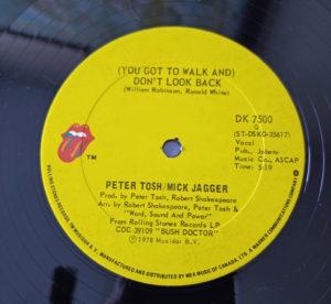 peter tosh & mick jagger