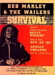 Bob Marley at The Apollo, NYC