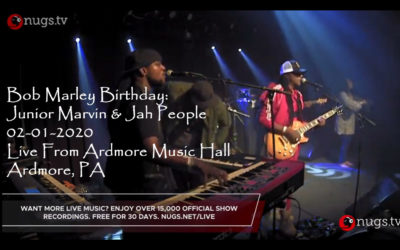 Bob Marley Birthday: Junior Marvin & Jah People